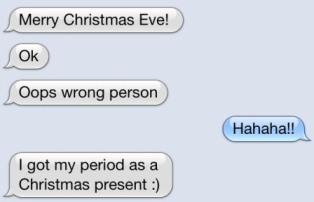 Christmas Present Text
