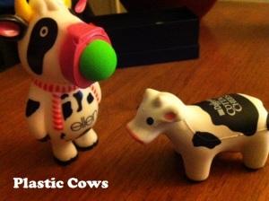 Plastic Cows