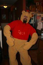 Guy in Winnie Costume